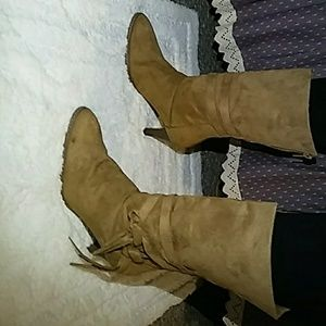 Brand New suede boots.